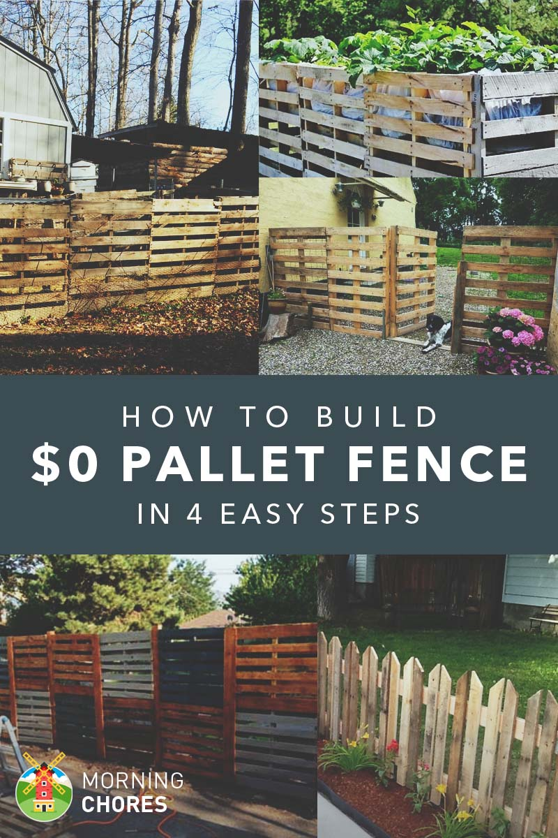 How to build a pallet fence for almost 0 and 6 plans ideas for Things to include when building a house