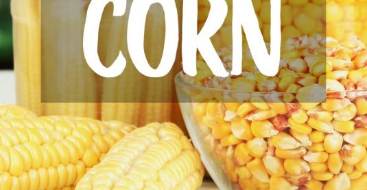 how to can corn