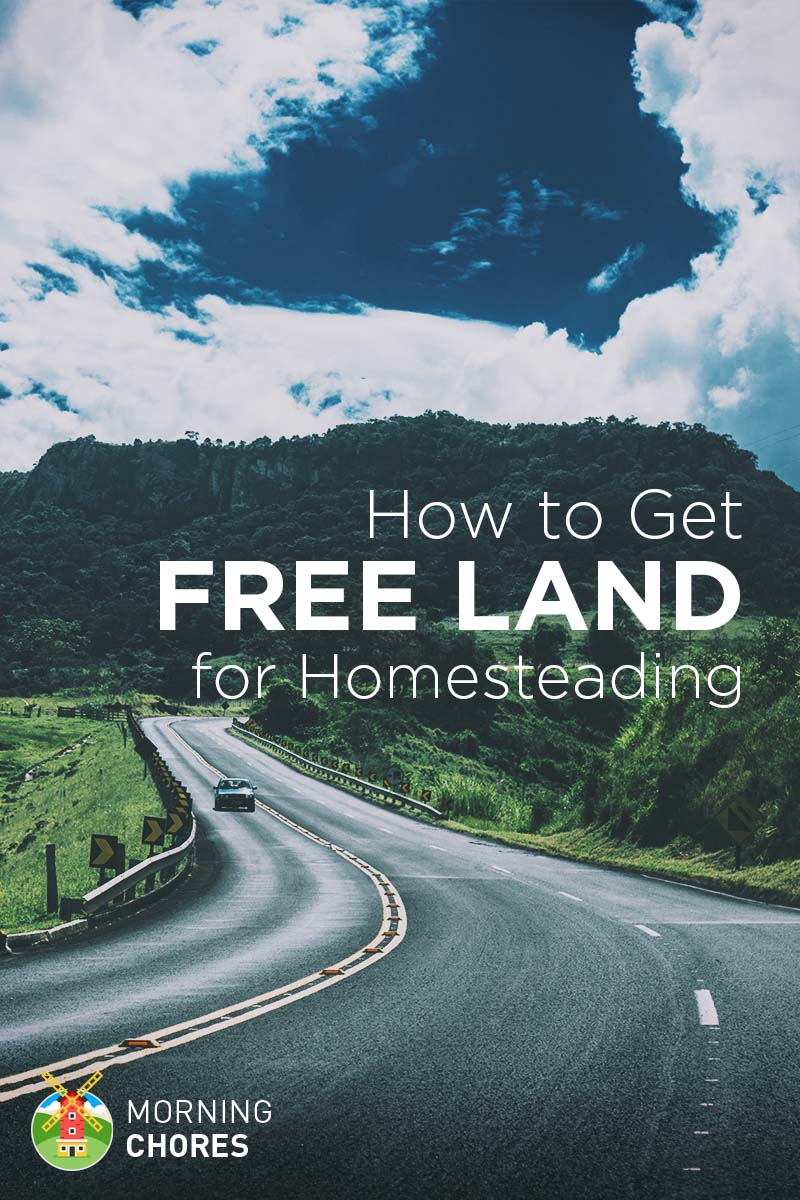 13 places to find free land for homesteading in the us
