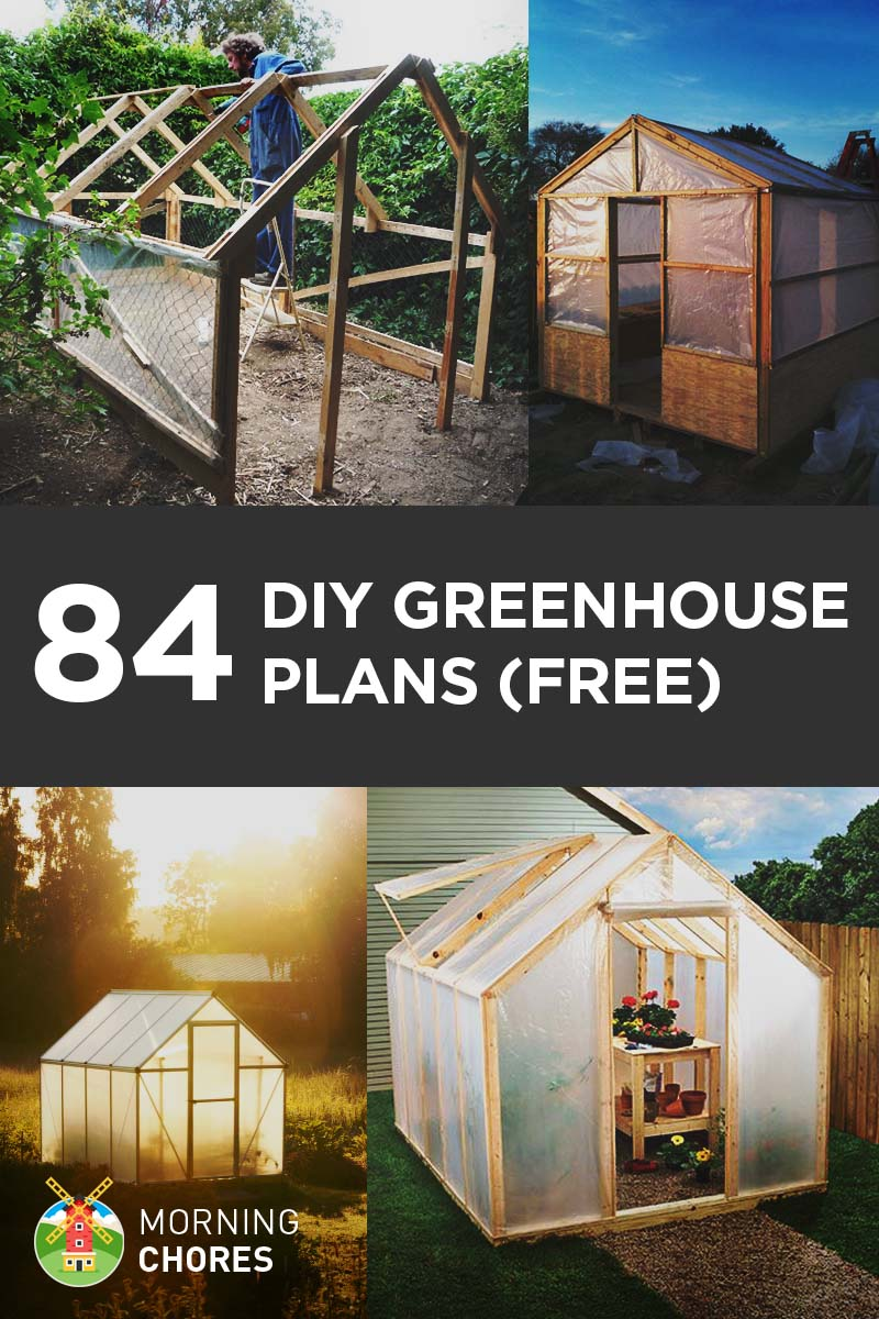 84 diy greenhouse plans you can build this weekend free for Build a house online free