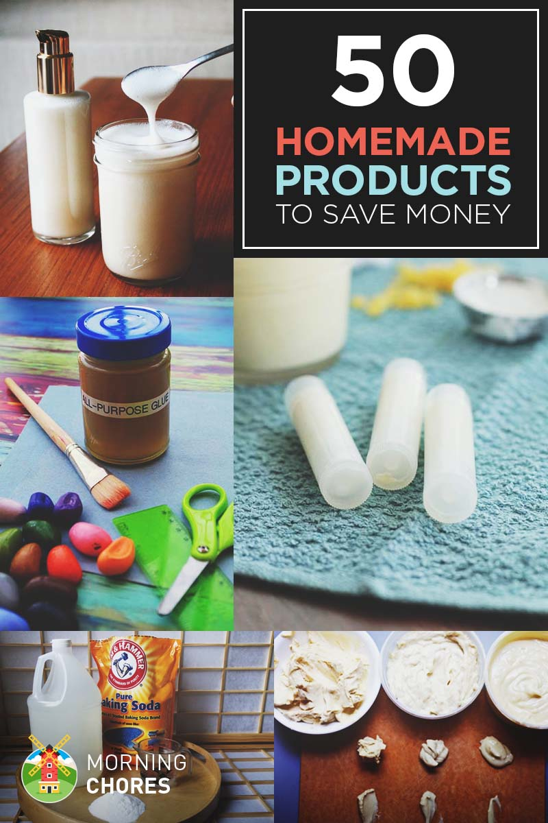 50 homemade products to save money and be healthier ForHomemade Products To Save Money