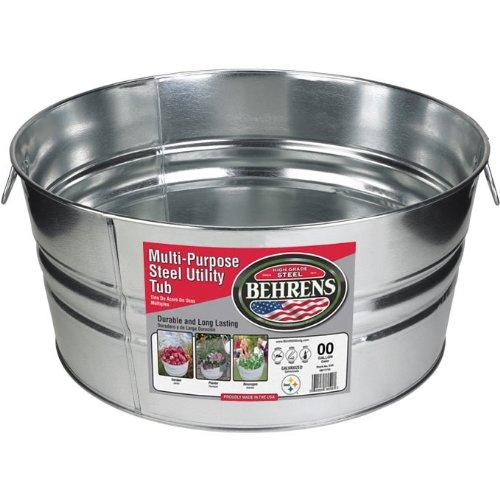 galvanized bucket as homesteading tools
