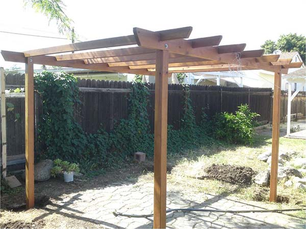Do It Yourself Home Design: 51 DIY Pergola Plans & Ideas You Can Build In Your Garden