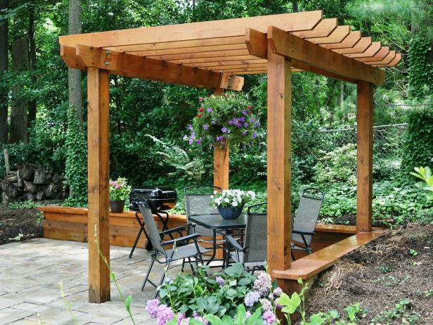 I Love These Pergola Plans The First Is Because It Gorgeous Which Most Pergolas Are