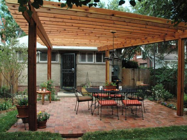 This Pergola Is Large And Gorgeous If You Have An Uncovered Back Patio But The Sun Right On It Would Do Trick