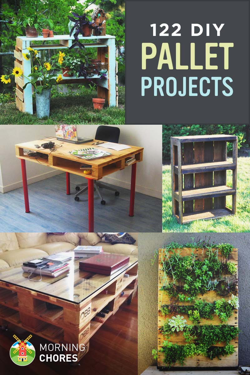 122 awesome diy pallet projects and ideas furniture and garden. Black Bedroom Furniture Sets. Home Design Ideas