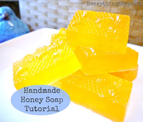Handmade-Honey-Soap-Tutorial-on-EverythingEtsy.com_thumb
