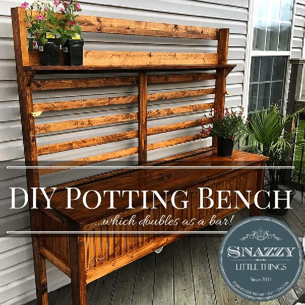 So Let S Say You Have Limited Patio E Need A Potting Bench But D Also Like To Place Entertain