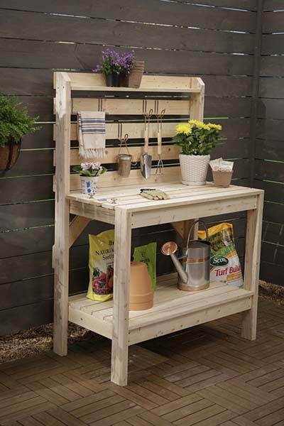RyobiNation Potting Bench