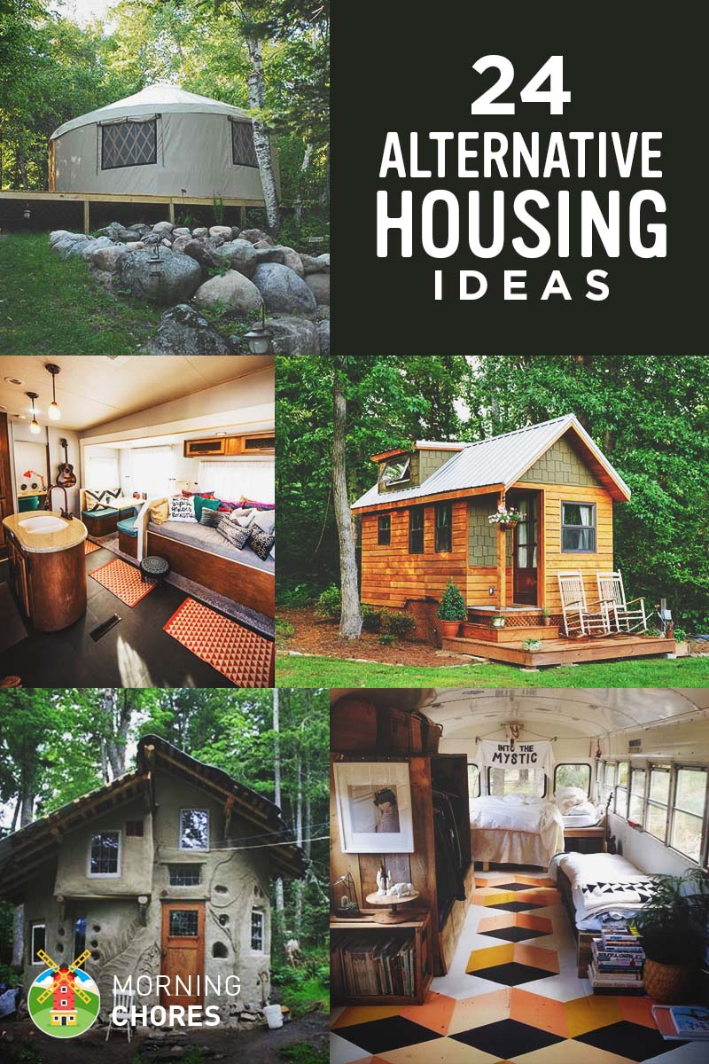Housing Ideas 24 realistic and inexpensive alternative housing ideas