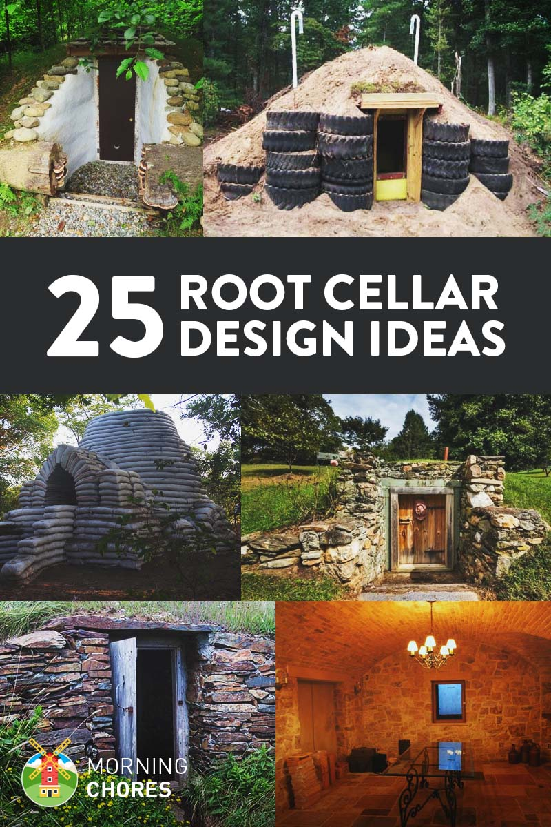 25 DIY Root Cellar Plans & Ideas to Keep Your Harvest Fresh