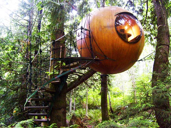 Free Spirit Sphere House