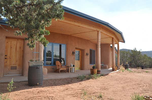Straw Bale House can be affordable alternative housing