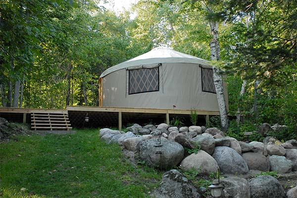 Yurt House as alternative housing