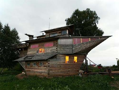 boat-house as alternative housing
