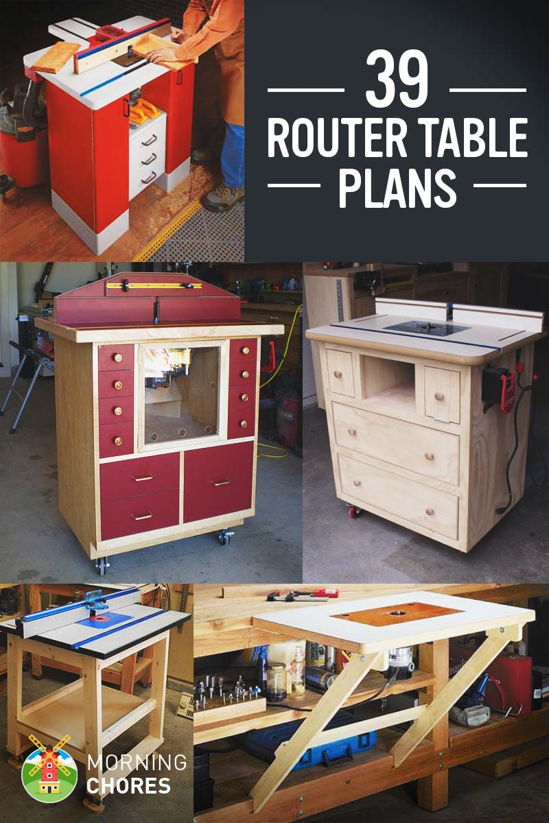 39 free diy router table plans ideas that you can easily build router is a very helpful tool in woodworking it can be used to help with molding cutting angles cabinetry and much more its hard to imagine building greentooth