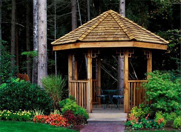22 free diy gazebo plans ideas to build with step by step tutorials rh morningchores com outdoor gazebo ideas
