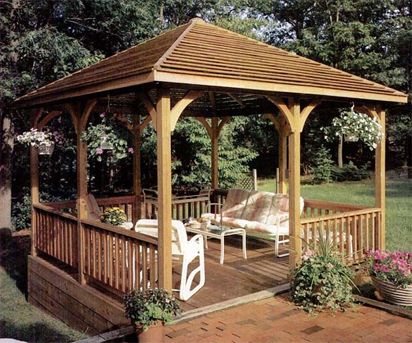 Made In The Shade Gazebo