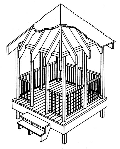 Pointed Gazebo
