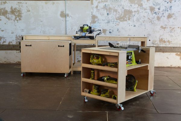 """As soon as I saw a picture of this system I said, """"Wow! That is really cool!"""" And it's because it is. So if you are looking for a DIY workbench that ..."""