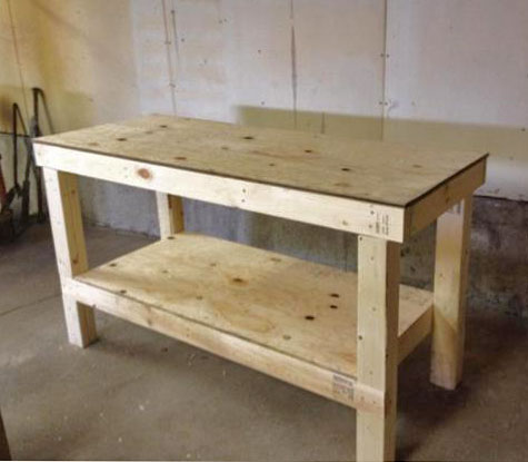 Fabulous 49 Free Diy Workbench Plans Ideas To Kickstart Your Machost Co Dining Chair Design Ideas Machostcouk