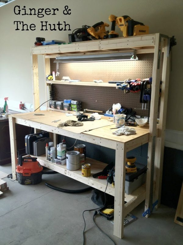 49 Free Diy Workbench Plans Ideas To Kickstart Your Woodworking Journey