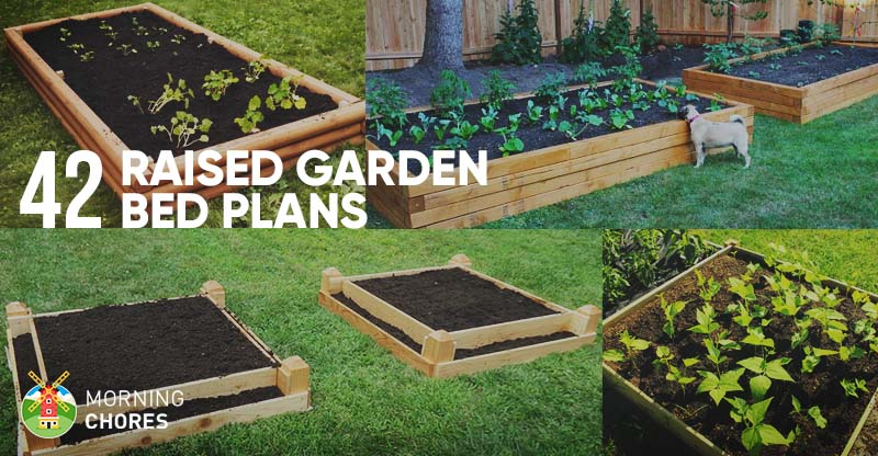 42 DIY Raised Garden Bed Plans and Ideas FB