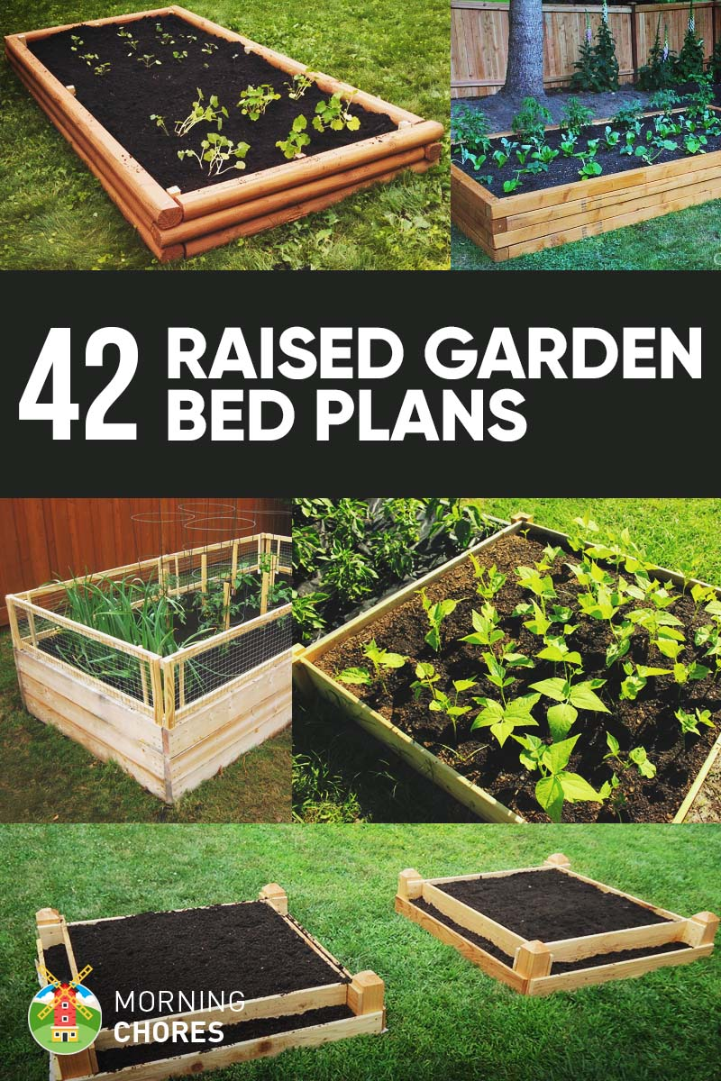 42 diy raised garden bed plans ideas that you can build for Raised bed plans