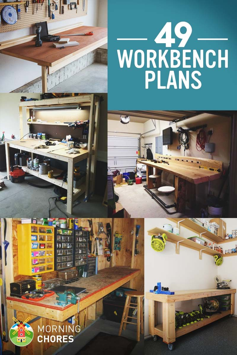 Magnificent 49 Free Diy Workbench Plans Ideas To Kickstart Your Onthecornerstone Fun Painted Chair Ideas Images Onthecornerstoneorg