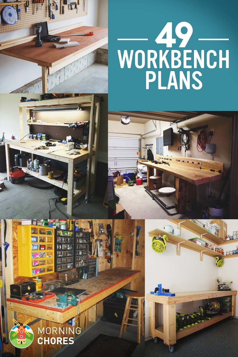 Woodworking is awesome  It s a great hobby that saves you money because  store bought furniture and buildings are overpriced  For some people   woodworking is  49 Free DIY Workbench Plans   Ideas to Kickstart Your Woodworking  . Free Plans Building Wood Workbench. Home Design Ideas