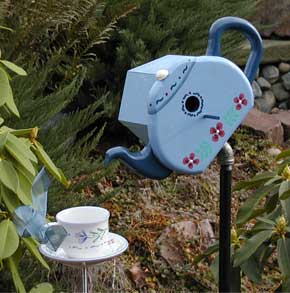 teapot birdhouse plans