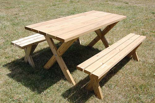 Fantastic 50 Free Diy Picnic Table Plans For Kids And Adults Short Links Chair Design For Home Short Linksinfo