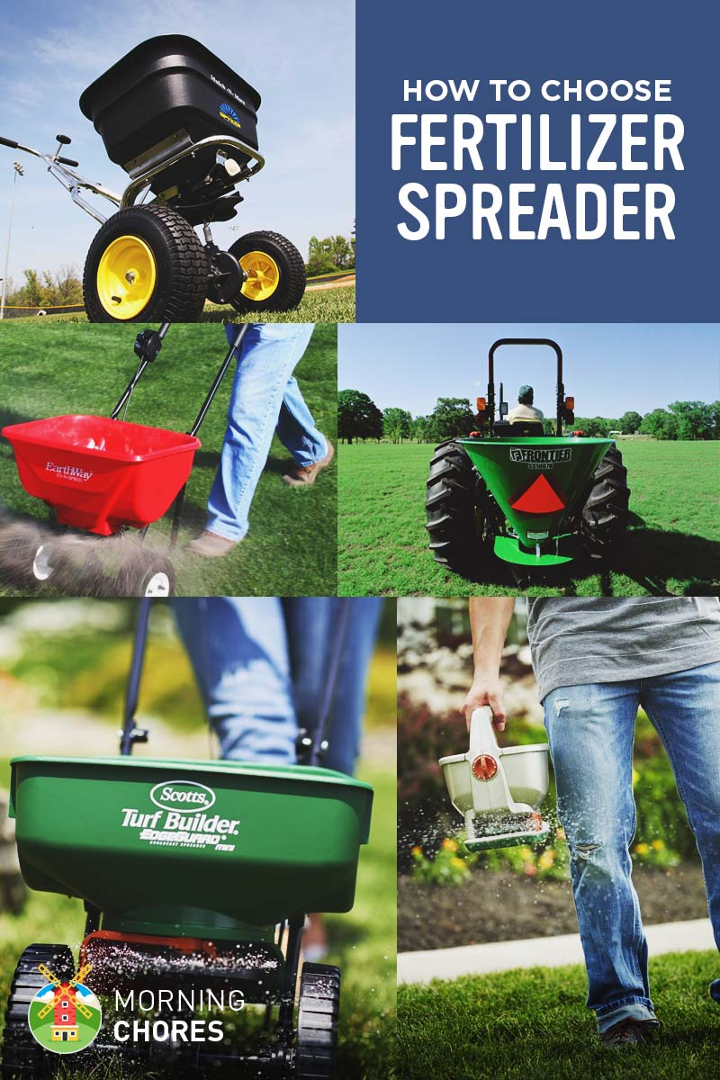 7 best fertilizer spreaders for home use - reviews & buying