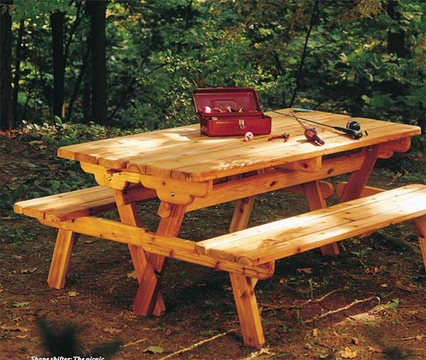 4 seater picnic or pub bench Handmade Heavy duty