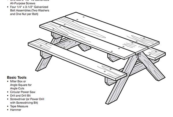 Amazing 50 Free Diy Picnic Table Plans For Kids And Adults Gmtry Best Dining Table And Chair Ideas Images Gmtryco