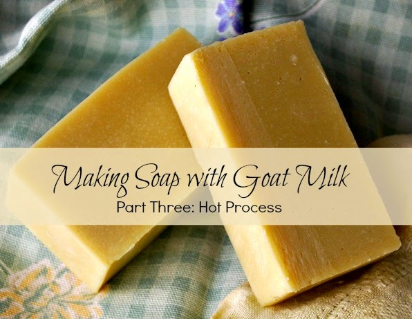 crockpot goat milk soap