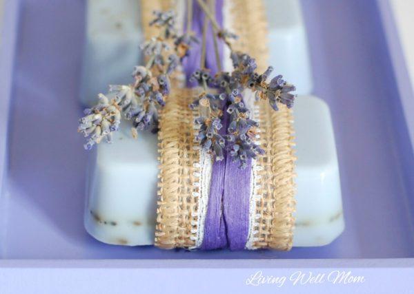easy lavender goat milk soap