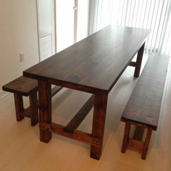 Marvelous 40 Diy Farmhouse Table Plans Ideas For Your Dining Room Free Ibusinesslaw Wood Chair Design Ideas Ibusinesslaworg