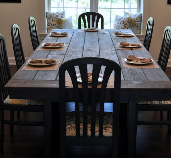 Pleasing 40 Diy Farmhouse Table Plans Ideas For Your Dining Room Free Short Links Chair Design For Home Short Linksinfo