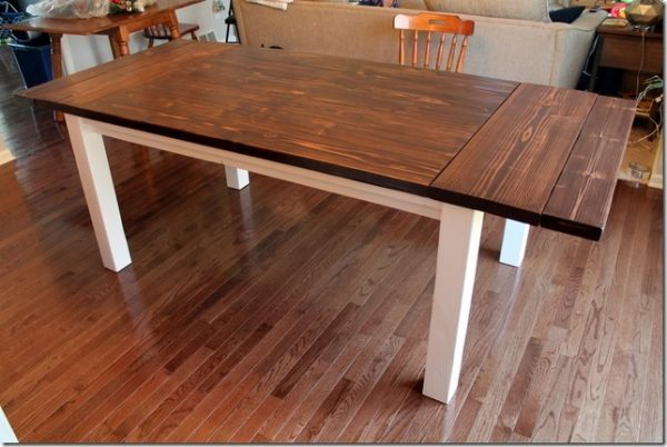 Awesome 40 Diy Farmhouse Table Plans Ideas For Your Dining Room Free Interior Design Ideas Truasarkarijobsexamcom