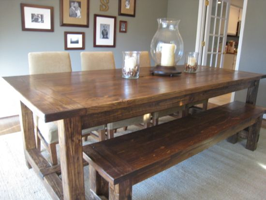 40 Diy Farmhouse Table Plans Ideas