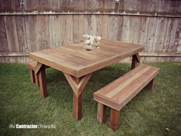 Miraculous 50 Free Diy Picnic Table Plans For Kids And Adults Evergreenethics Interior Chair Design Evergreenethicsorg