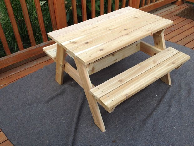 Enjoyable 50 Free Diy Picnic Table Plans For Kids And Adults Short Links Chair Design For Home Short Linksinfo
