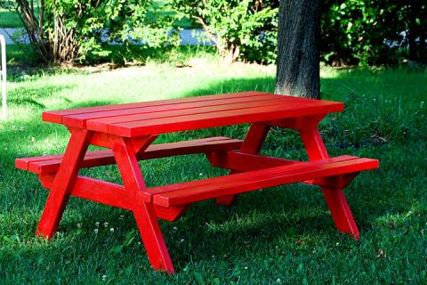 Outstanding 50 Free Diy Picnic Table Plans For Kids And Adults Onthecornerstone Fun Painted Chair Ideas Images Onthecornerstoneorg
