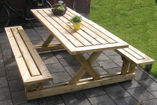 Pleasant 50 Free Diy Picnic Table Plans For Kids And Adults Dailytribune Chair Design For Home Dailytribuneorg