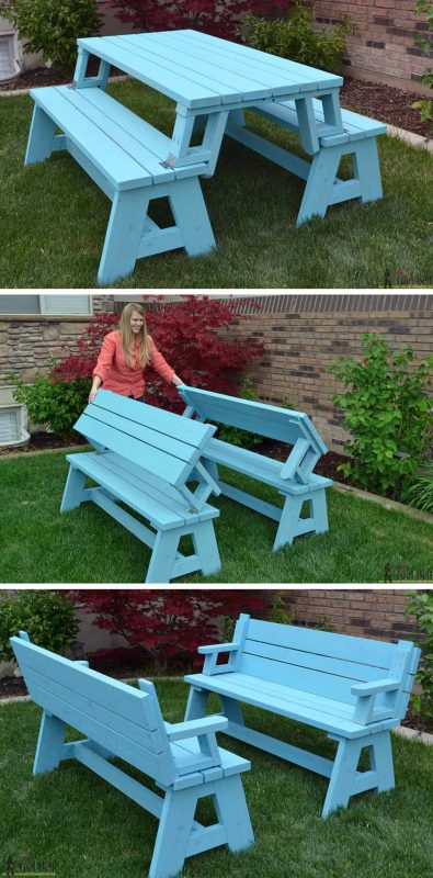 Super 50 Free Diy Picnic Table Plans For Kids And Adults Gamerscity Chair Design For Home Gamerscityorg
