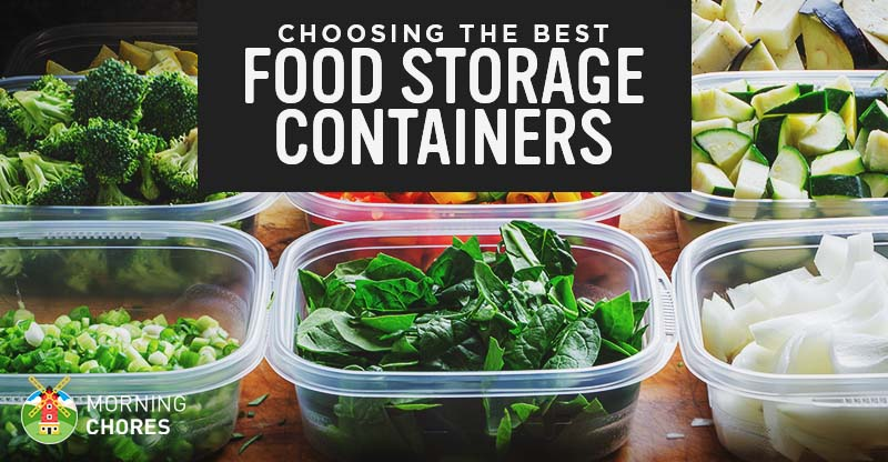10 Best Food Storage Containers - Plastic, Glass, and