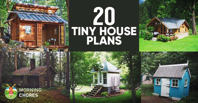 Cool 20 Free Diy Tiny House Plans To Help You Live The Tiny Happy Life Largest Home Design Picture Inspirations Pitcheantrous