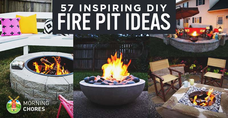 Fantastic 57 Inspiring Diy Outdoor Fire Pit Ideas To Make Smores With Squirreltailoven Fun Painted Chair Ideas Images Squirreltailovenorg