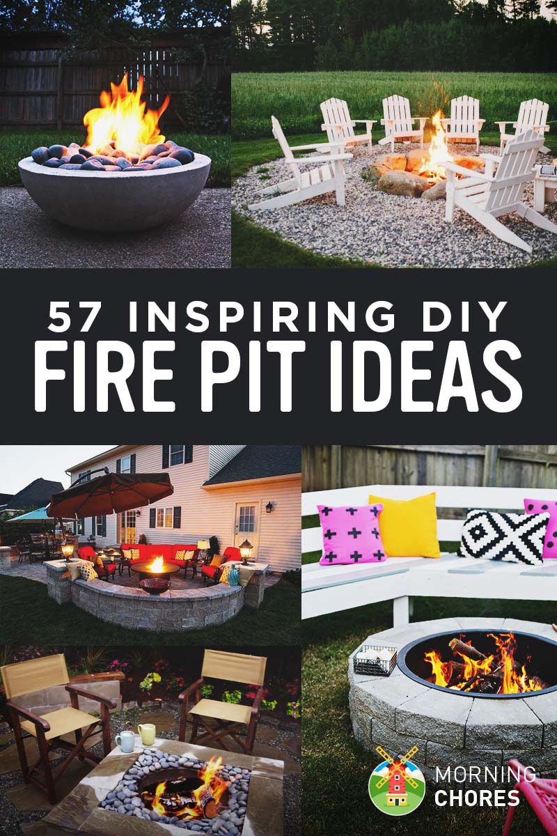 57 Inspiring DIY Outdoor Fire Pit Ideas to Build with Your Family